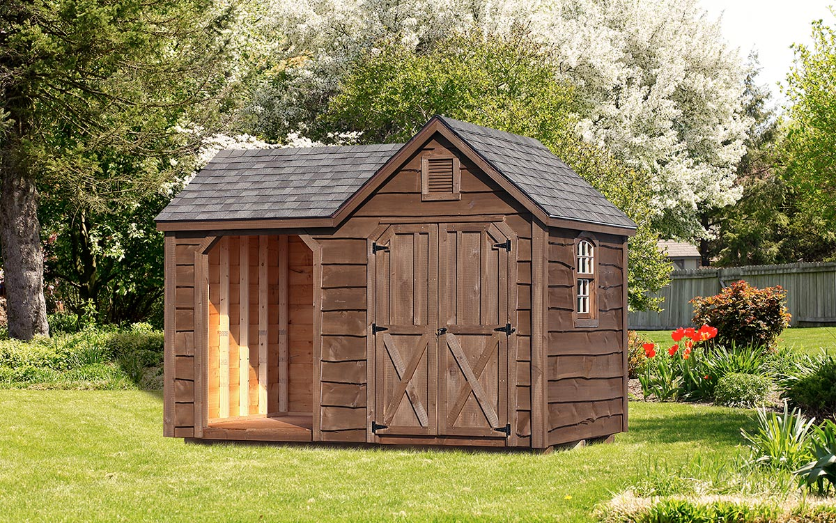 Village Shed Store 8x12 Heritage Wood Shed
