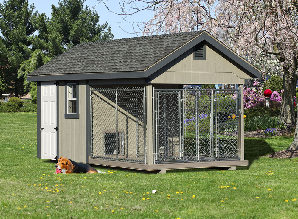 Village Shed Store double dog kennel