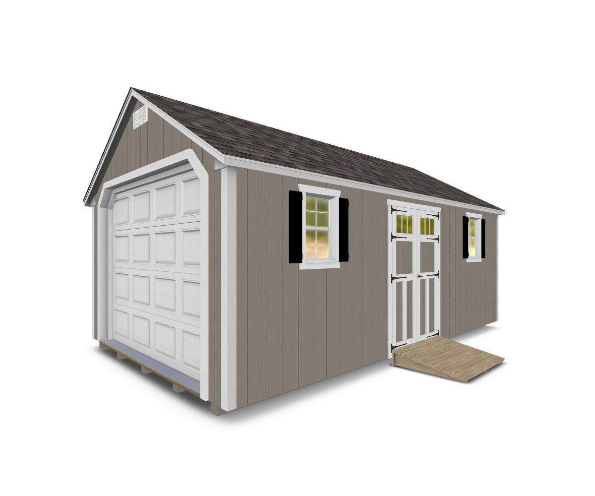 Village Shed Store's A-Frame Garage