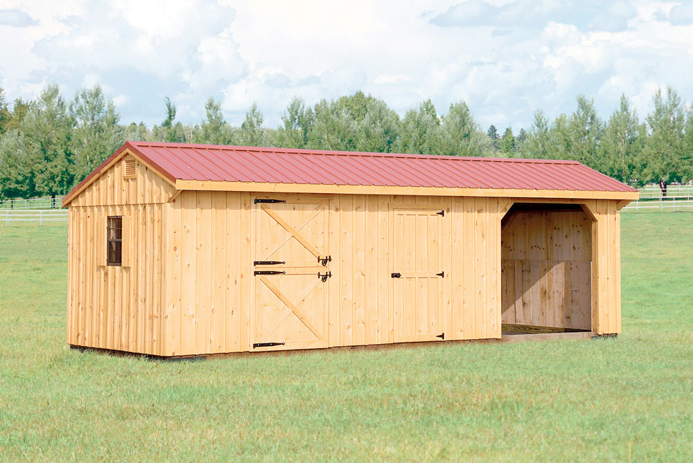 Village Shed Store Horse Barn