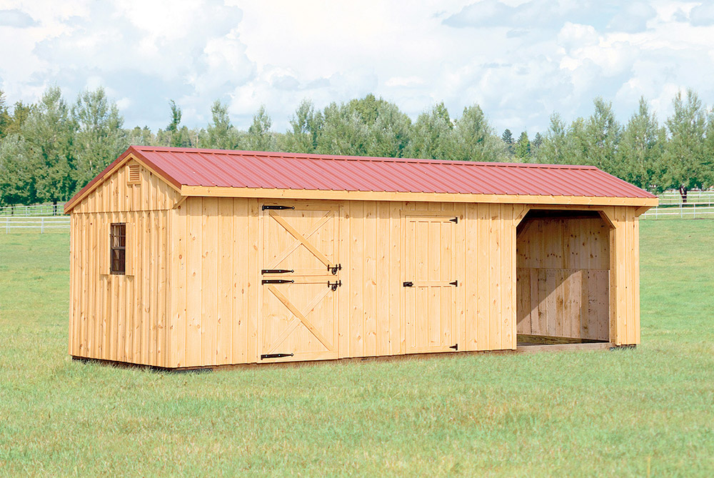 Village Shed Store's Horse Barn